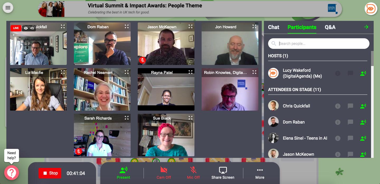 impact awards virtual event